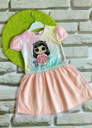 Нарядные платья с лол для девочек 3-8 лет