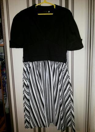 Стильное приталенное платье в ретро стиле  sisjuly