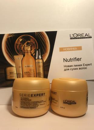 Маска для сухих и ломких волос l'oreal professionnel nutrifier...
