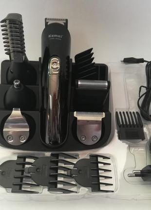 Профессиональный набор машинка для стрижки волос триммер бритв...