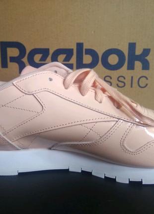 Новые женские лаковые кожаные кроссовки рибок Reebok
