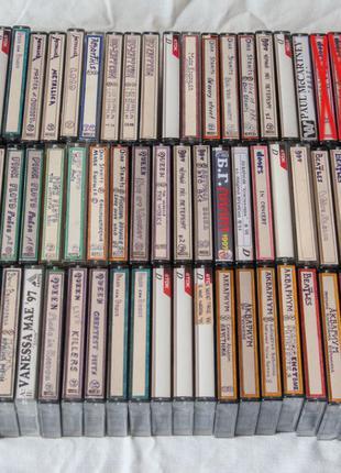 Аудиокассеты с рок музыкой TDK