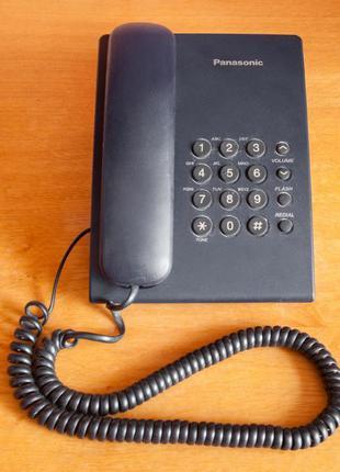 Проводной телефон (стационарный) Panasonic KX-TS2350UAB