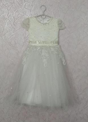 Платья нарядное выпускное праздничное бальное для маленькой пр...