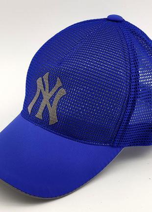 Бейсболка мужская кепка сетка 54 по 58 размер низкая посадка