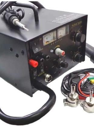 YAXUN YX 909 компрессорная БП 15v1a паяльная станция фен паяльник