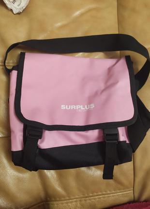 Мини сумка розовая спорт