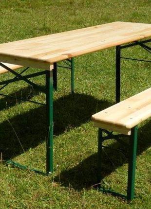 Аренда деревянных лавочек, скамеек, столов в Днепре