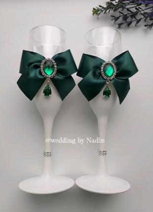 Бокали для наречених Весільні бокали Бокали для шампанського