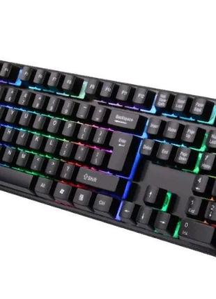 Профессиональная игровая клавиатура с подсветкой LANDSLIDES KR-63