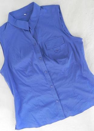 Рубашка цвет лаванды