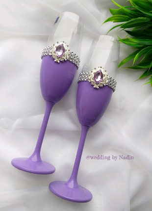 Бокали для наречених Весільні бокали