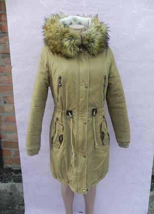Куртка парка зимняя holdluck