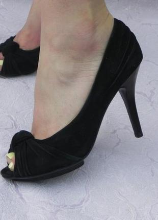 Туфли элегантные с открытым носком на высоком каблуке skerry 23см