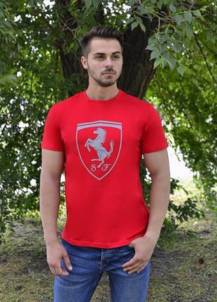 Футболка Puma Ferrari красная