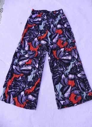 Юбка брюки высокая талия для пышной леди