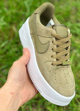 Nike Air Force 1 Sage Low Green