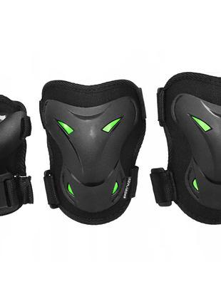 Комплект защитный SportVida SV-KY0004-L Size L Black-Green SKL41-