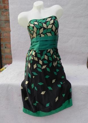 Платье шелк нарядное выпускное вечернее коктельное monsoon