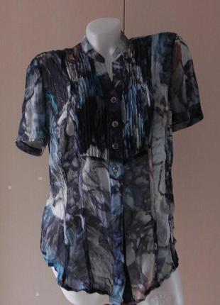 Блуза рубашка оригинальной расцветки bonita