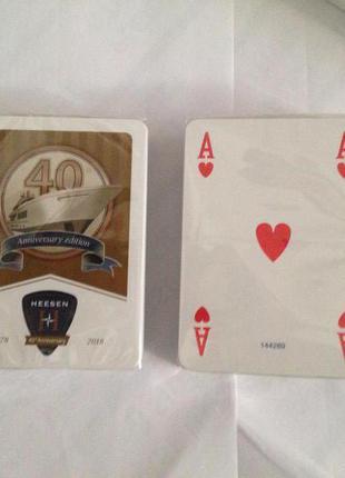 Покерные игральные карты  для покера Modiano 2 колоды