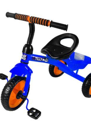 Велосипед трехколесный TILLY TRIKE T-315с EVA колесами и корзиной
