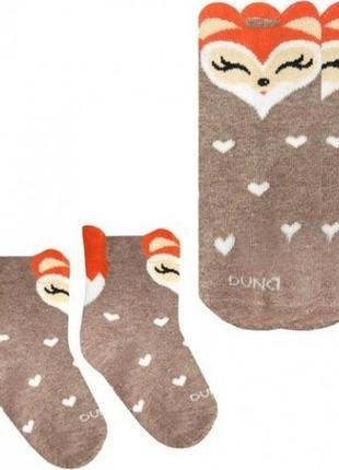 Носки для младенцев с личичкой duna 0-6 месяцев 08-10 см стопа