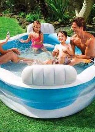 Детский надувной бассейн Intex 56475 Космический плот