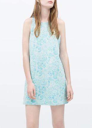 Новое платье zara  пог 45 см дли длина 83 см