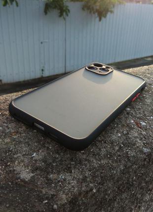 Чехол на Iphone 11 Pro Maх (черный)