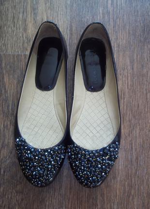 Туфли лодочки кожа лак Donna Ricco 38