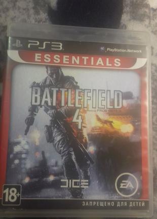 Battlefield 4 BF4 для ps3 playstation 3