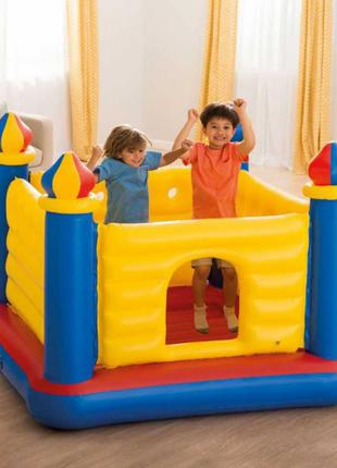 Детский надувной игровой центр батут Intex 48259 Замок