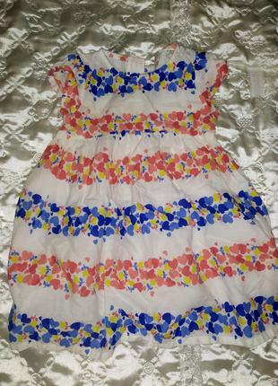 Легкое летнее платье для девочки ❤