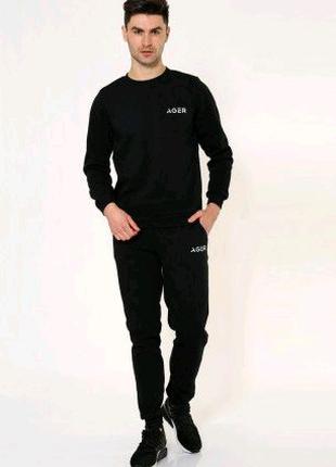 Спорт костюм мужской 102R025 цвет Черный