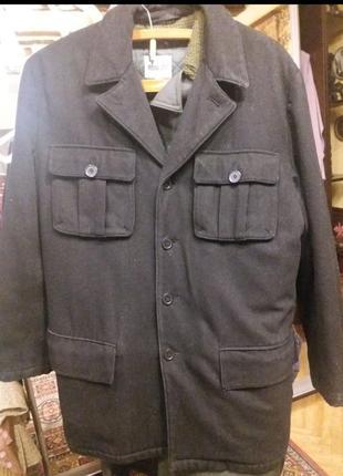 Пальто мужское большой размер 54