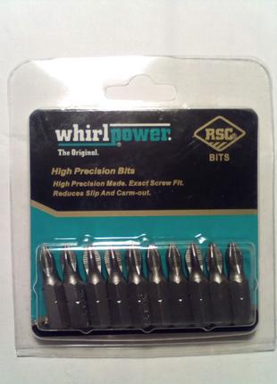 Биты Whirlpower PH2*25 мм - ( 10 штук в уп. ) - 35 грн уп.