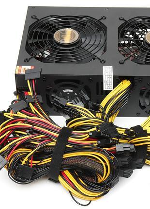 Блок питания HNB JM-3300W 80 PLUS GOLD ATX mult-GPU