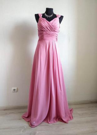 Новое длинное вечерние платье