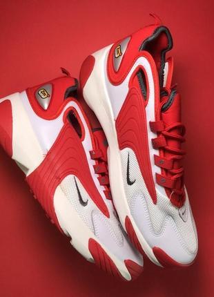 Мужские кроссовки nike zoom 2k red white.