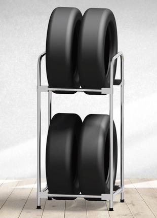 Модный стеллаж для хранения шин - (Model-1322S2)