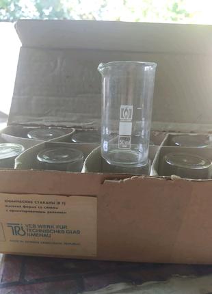 Химические стаканы (В 1) 50 мл. Германия