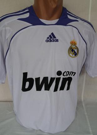 Реал Мадрид Футболка игровая Adidas Ретро взрослая