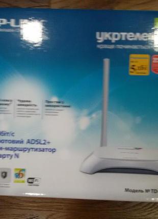 Модем TP-LINK безпроводной ADSL2 модем-маршруторизатор