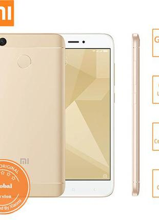 Xiaomi Redmi 4X PRO. 3/32 Global Version. Gold