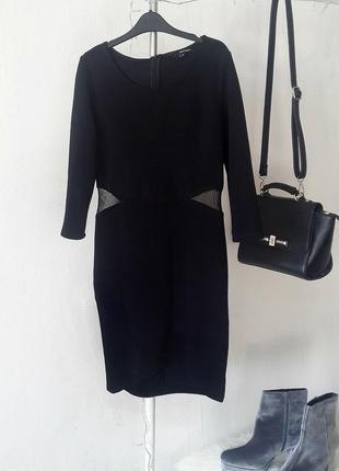 Платье в обтяжку,платье черного цвета с длинным рукавом,платье...