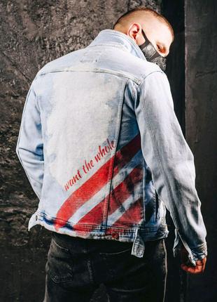 Джинсова чоловіча куртка OSSY