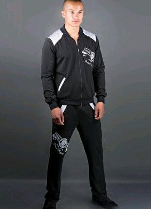 Мужской спортивный костюм Митчел (черный)