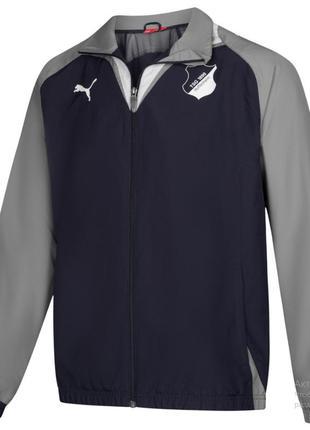 Оригинал тренировочная куртка/ветровка подростковая puma рост ...