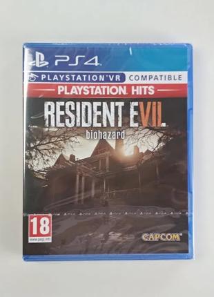 Resident Evil 7 Biohazard VR / PS4 / на русском языке / Новый